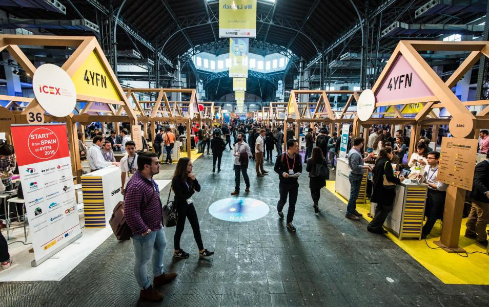 La UOC impulsa start-ups de su comunidad en la feria 4 Years From Now del Mobile World Congress