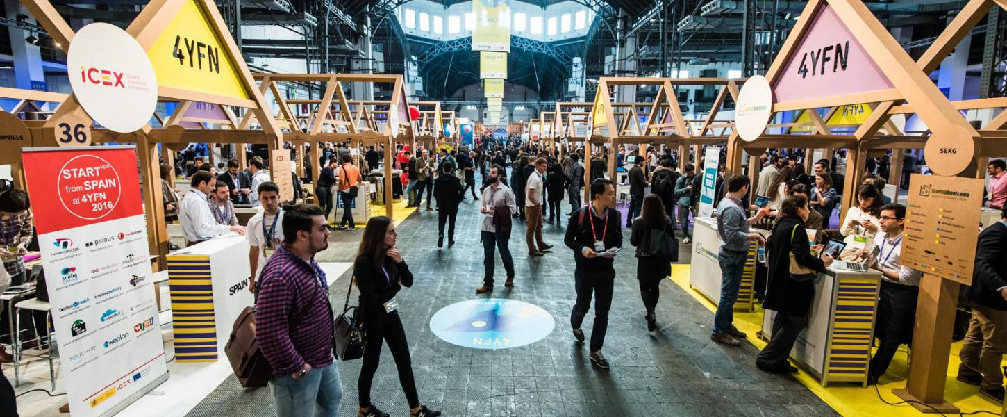 The UOC to promote start-ups from its community in the 4 Years From Now fair at the Mobile World Congress